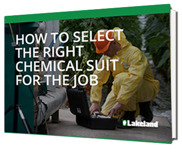 Selecting the right chemical suit