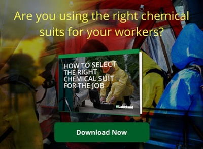 Using the right chemical suits for your workers